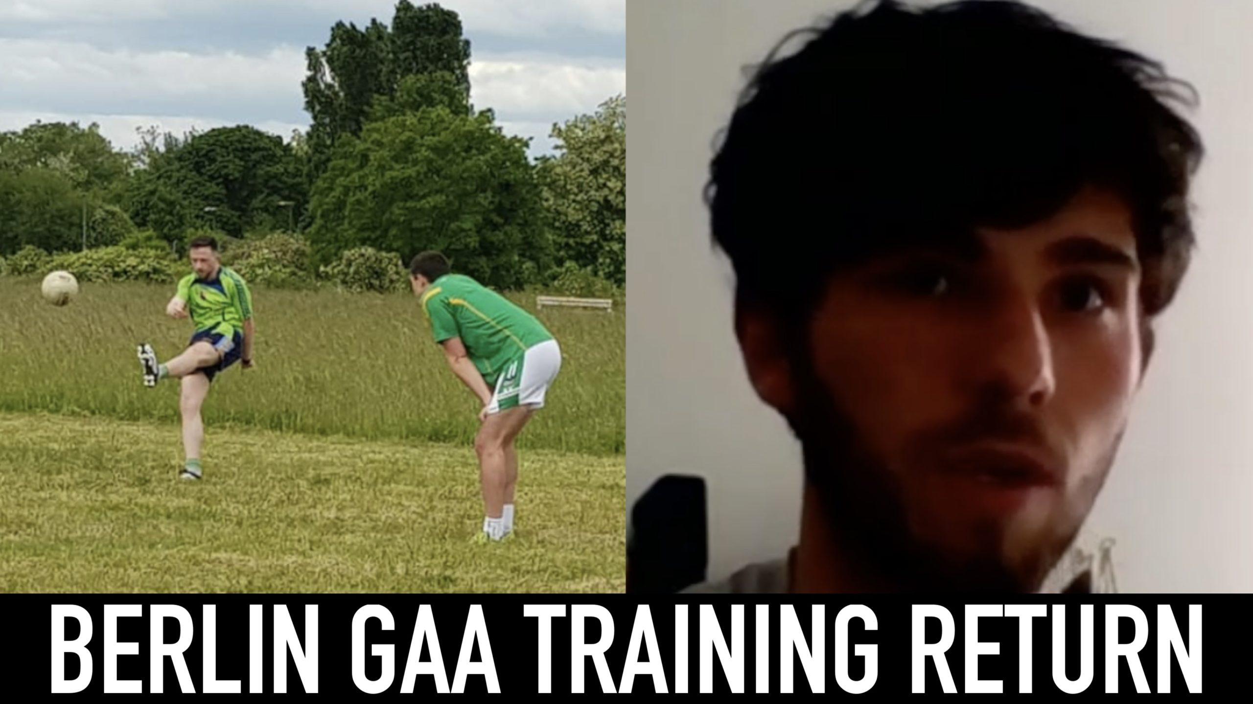 Berlin GAA and player Luke Quinn