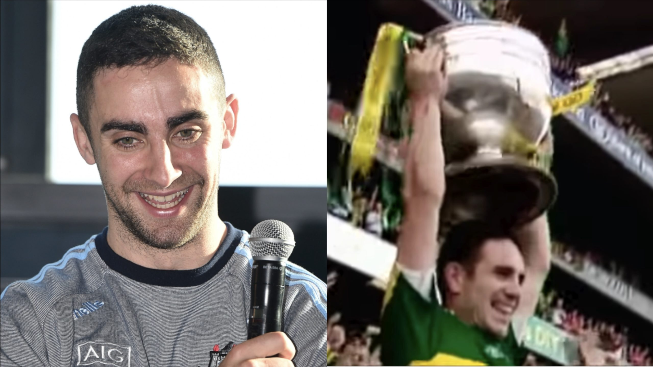 James McCarthy and Declan O'Sullivan