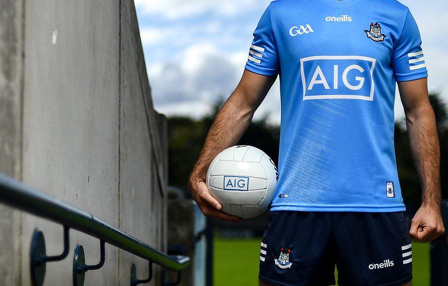 Dublin football jersey