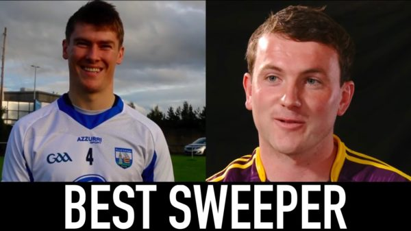 Hurlers Tadhg de Burca and Kevin Foley